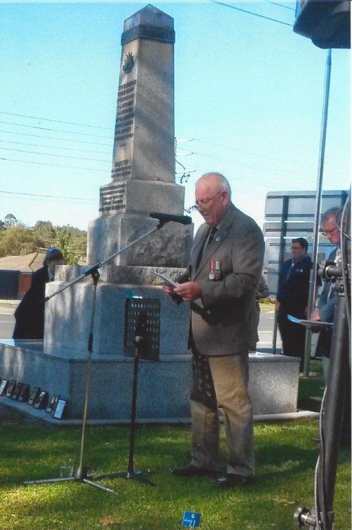 Anzaac memorial service 2016