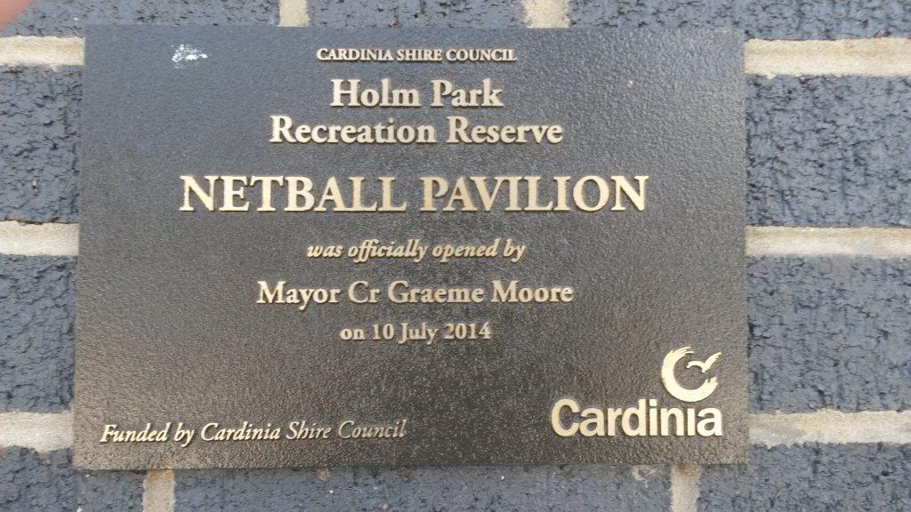 netball-plaque