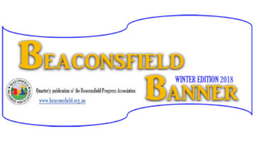 Beaconsfield Banner Winter 2018
