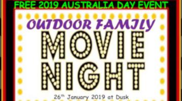 Australia Day free movie night 26 January 2019